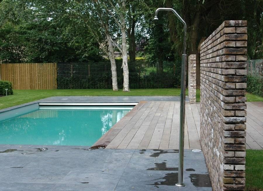 Tuin met zwembad ontwerpen aanleggen tuin met zwembad for Tuin aan laten leggen