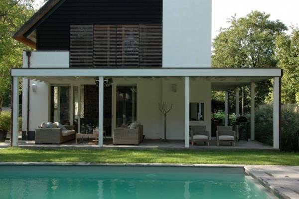 familietuin met zwembad ontwerpen