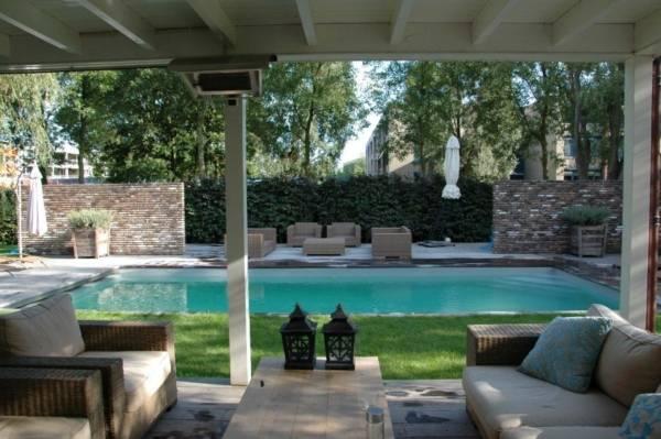 Tuin met zwembad ontwerpen tuin met zwembad ontwerpen for Eigen zwembad in de tuin