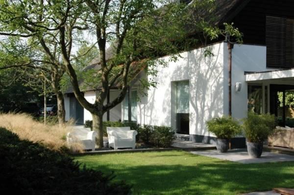 moderne tuinen ontwerpen in Zeist