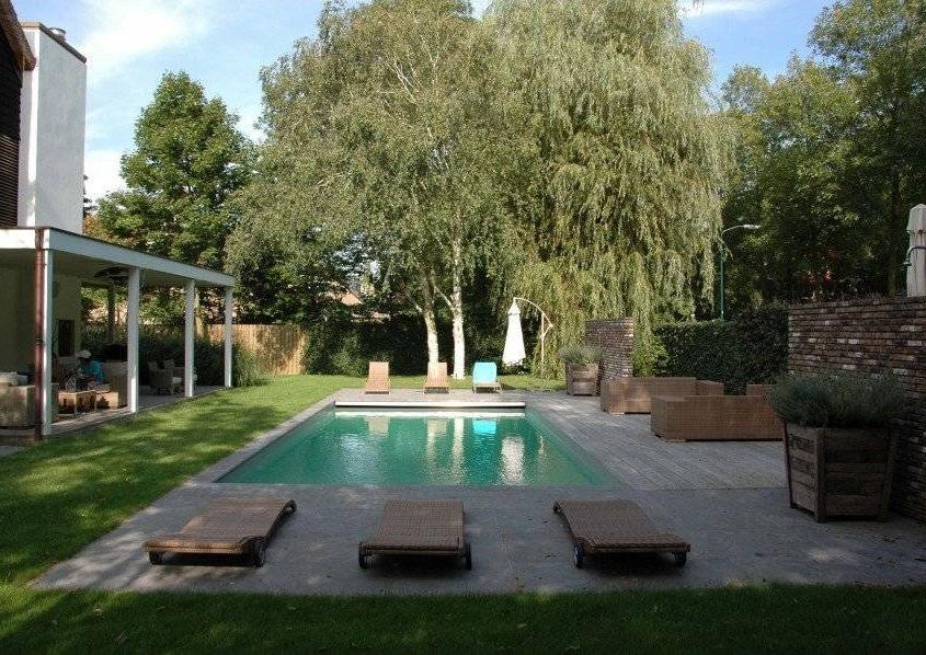 Tuin met zwembad ontwerpen