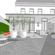 tuinrenovatie van stadstuin