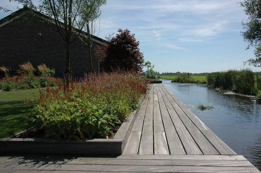 landschapstuin ontwerpen aan het water