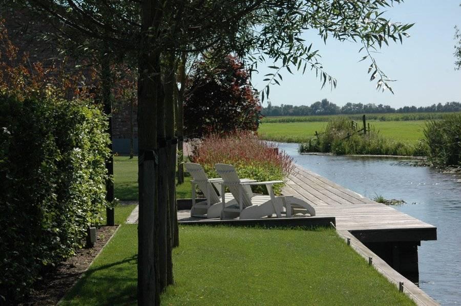 Tuinen aan water tuinen aan water ontwerpen en aanleggen for Eigen moestuin ontwerpen en aanleggen