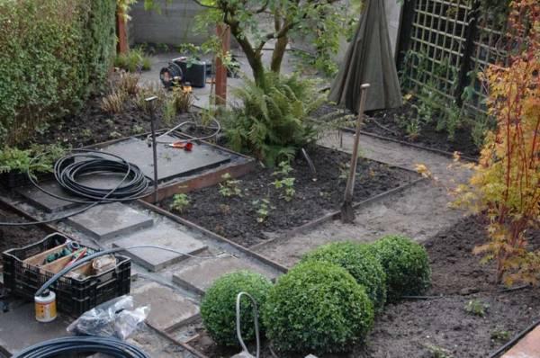 Tuinaanleg tuinaanleg van grote tuinen en kleine tuinen for Tuinontwerp door studenten
