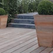 houten plantenbakken