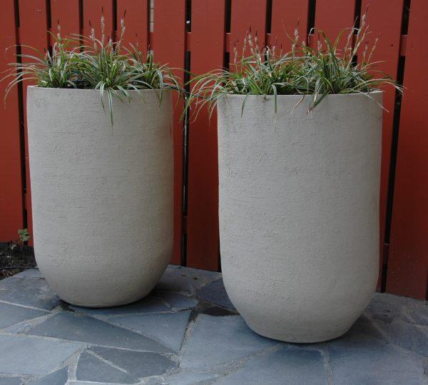 wintervast potten en grote bloempotten