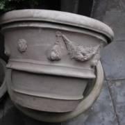 Klassieke terracotta potten