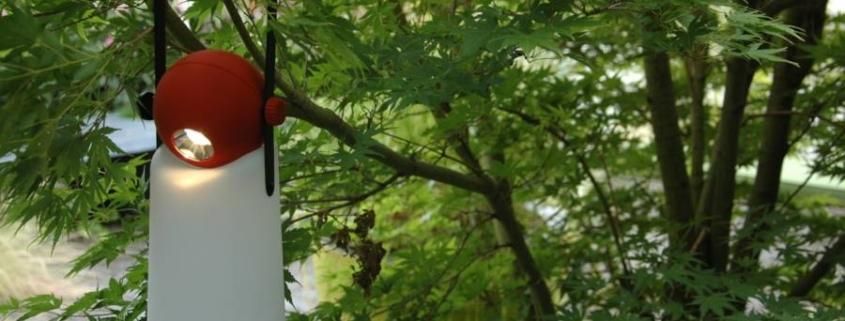 Hanglamp voor in de tuin