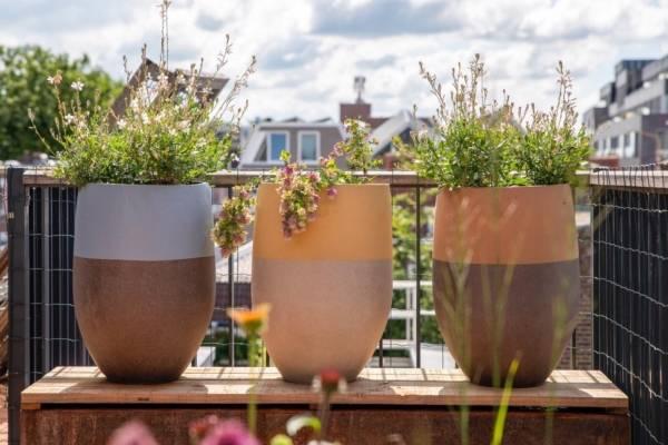 terracotta potten voor balkon